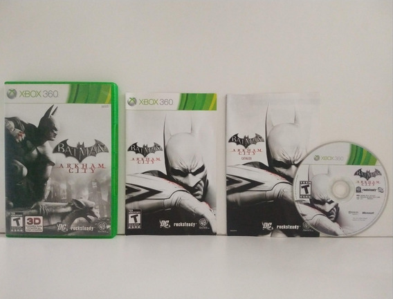 Batman Arkham City Xbox 360 Física Xbox One Original