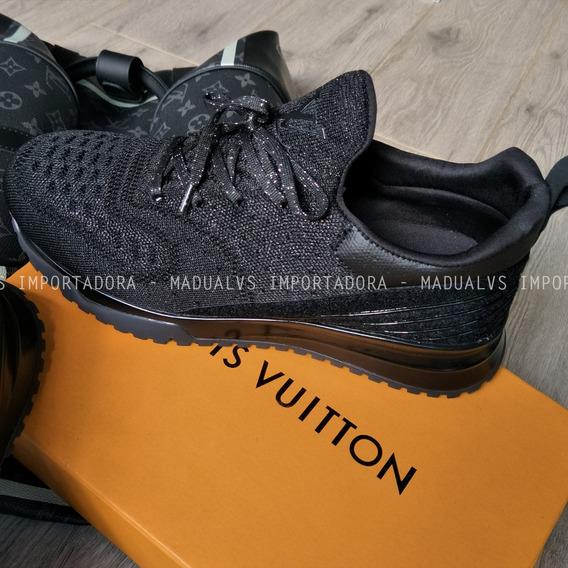 Tênis Louis Vuitton Vnr Preto - Frete Grátis