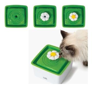 Cat It Mini Fuente Flor Bebedera Agua Para Gatos + Envío