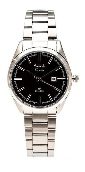 Reloj Alexandre Christie Classic Steel 8560ldbssba