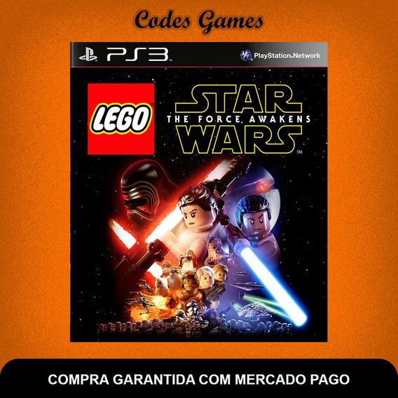 Lego Star Wars The Force Awakens - Ps3 - Pronta Entrega
