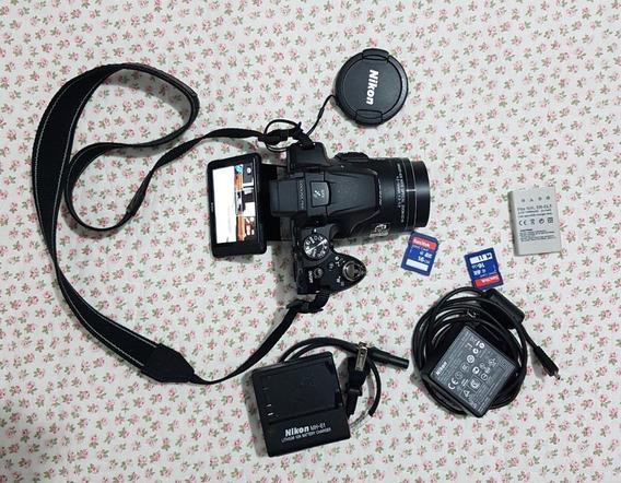 Câmera Nikon Colpix
