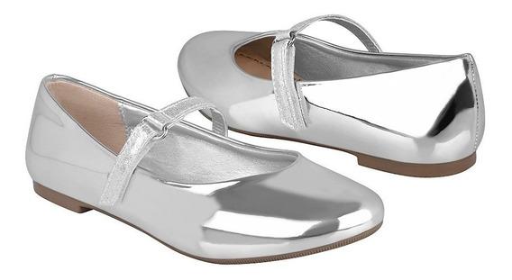 Zapatos Casuales Para Niña Tropicana 46051 Plata