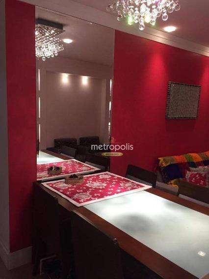 Apartamento Com 2 Dormitórios À Venda, 68 M² Por R$ 470.000,00 - Barcelona - São Caetano Do Sul/sp - Ap4131