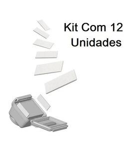 Kit Com 12 Pastilhas Anti Embaçantes Anti-fog Gopro 6 Black