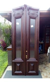 Puerta Antigua De Frente Cedro