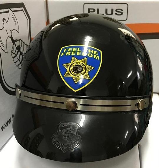 Capacete Aberto Kraft Sheriff Custom - Lançamento