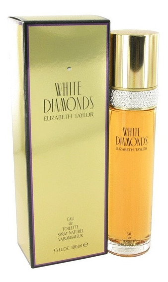 Perfume Feminino White Diamonds By Elizabeth Taylor100ml Edt