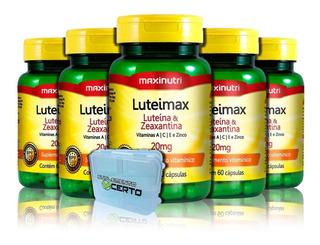 Luteimax Luteína & Zeaxantina 5 Un + Brinde - Maxinutri