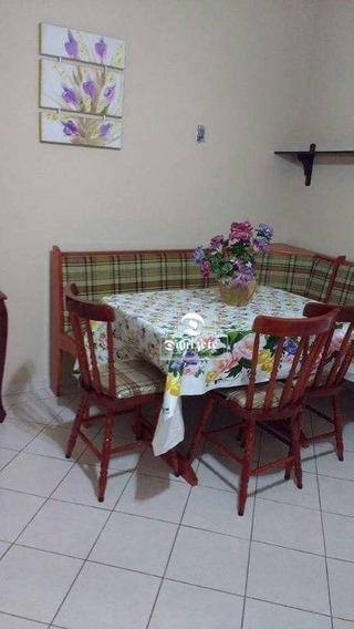 Apartamento Com 1 Dormitório À Venda, 71 M² Por R$ 234.000,00 - Jardim Las Palmas - Guarujá/sp - Ap10764