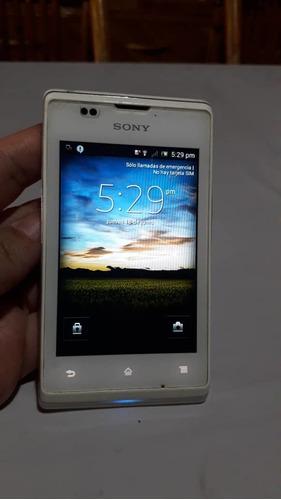 Teléfono Sony Xperia E