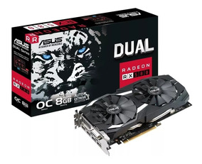 Placa De Vídeo Asus Rx 580 8gb Gddr5 256 Bits Radeon Oc