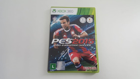 Pes 15 - Pro Evolution Soccer 2015 - Xbox 360 - Original