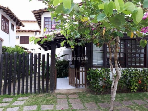 Casa Condomínio Próximo Praia Geribá Búzios Sala, 3 Quartos.garagem E Churrasqueira Particular. Condomínio Com Piscina. - Ca0518