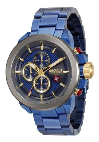 Relógio Masculino Analógico Seculus 13020gpsvqa1
