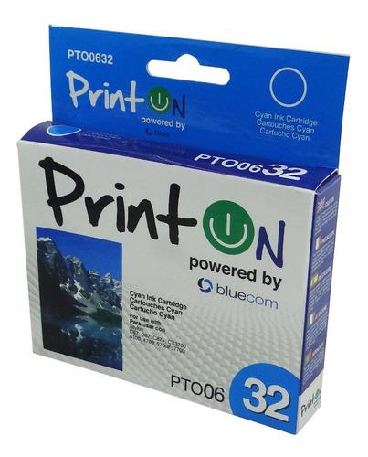 Cartucho De Tinta Epson Stylus C67 Cx3700 Printon