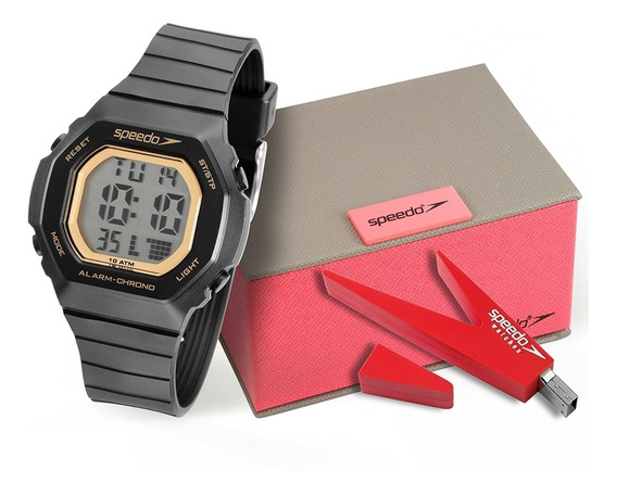 Relógio Feminino Speedo 80615loevnp1 Preto
