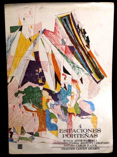 Partituras Guitarra, Astor Piazzolla, 4 Estaciones Porteñas