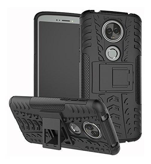 Funda Para Moto E5 Plus, Moto E5 Supra Case, Yiakeng Dual Ca