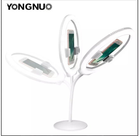 Ring Light De Led Yongnuo Yn-128 128 Leds 3200k-5500k