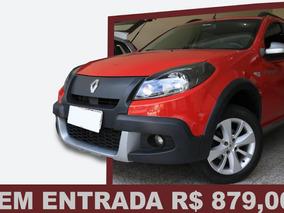 Renault Sandero Stepway 1.6 16v/ Sem Entrada R$879,00