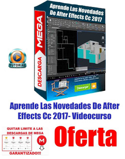 Aprende Las Novedades De After Effects Cc 2017- Videocurso