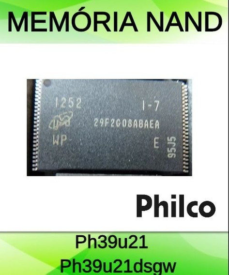 Memória Nand Original Tv Philco Ph39u21 Ph39u21dsgw