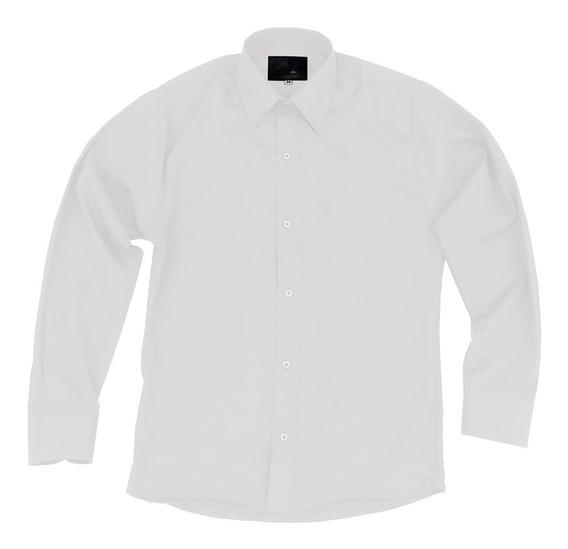 Camisa Vestir De Adulto Blanca Tallas Extras 44, 46, 48, 50