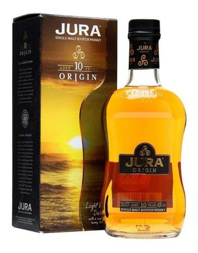 Imagen 1 de 8 de Whisky Jura Origin 10 Años Single Malt 700ml En Estuche