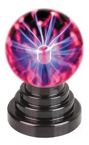 Usb Plasma Ball Bola De Plasma Lampada,decoração,magica,casa