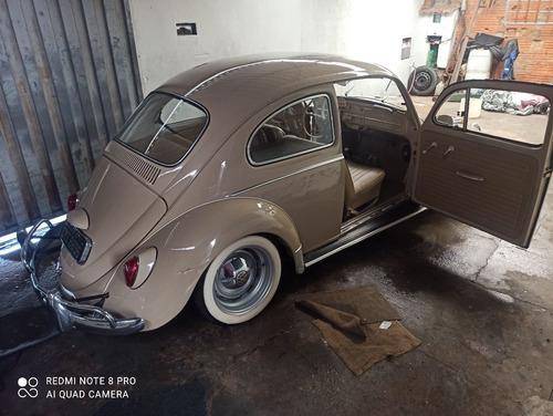 Volkswagen Fusca 66 Placa Preta