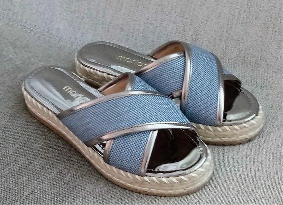 Sandália Feminina Flatform ,tifa Shoes