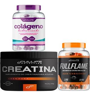 Creatina + Cafeina + Colageno - Fullife Nutrition