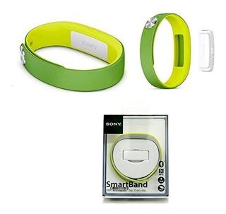 Genuino Sony Smartband Swr10 Registro De Vida Rastreador Blu