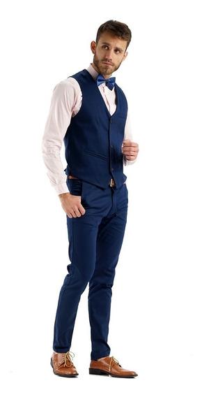 Chalecos Hombre De Vestir Con Pantalón Chupín Gabardina
