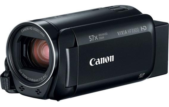 Filmadora Canon Vixia Hf R800 Ent Mic+64gb+bolsa+tripé S/jur