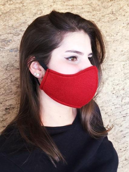 Máscara Respiratória Reutilizável Lavável Tripla Proteção