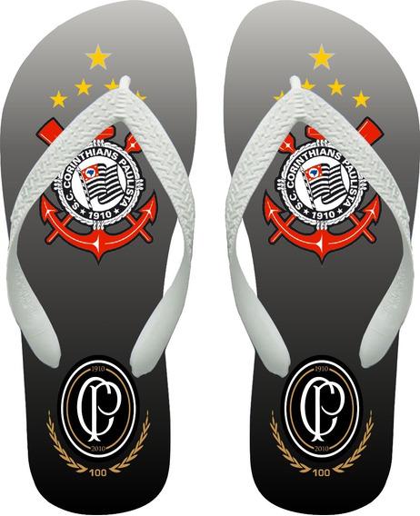 Chinelo Adulto Personalizado, Corinthians