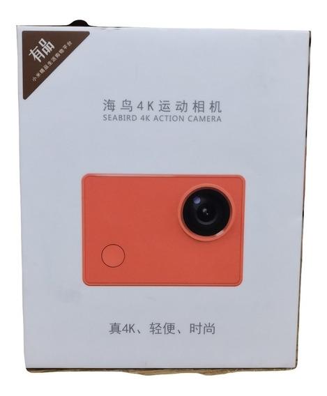 Camera Xiaomi Seabird 4k 12mp Mini Acompanha Cartao Sd 64gb
