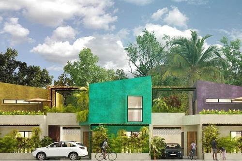 Casa En Preventa Con Alberca Privada De 2 Recs Con Opción A 3, Tulum (522)