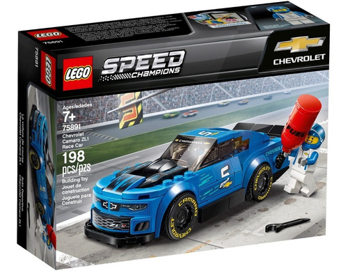 Lego Speed Champions Camaro Zl1  (75891) 198 Piezas