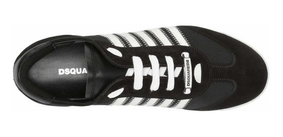 Dsquared2 New Runner Sneaker Blanco Negro