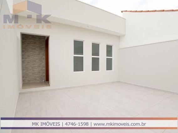 Casa Nova 3 Dormitórios, 1 Suíte Em Suzano - Sp - 594