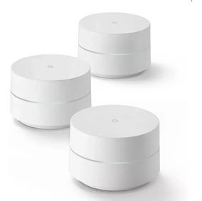 3 Roteadores Google Wifi Dual Band Original Sem Embalagem