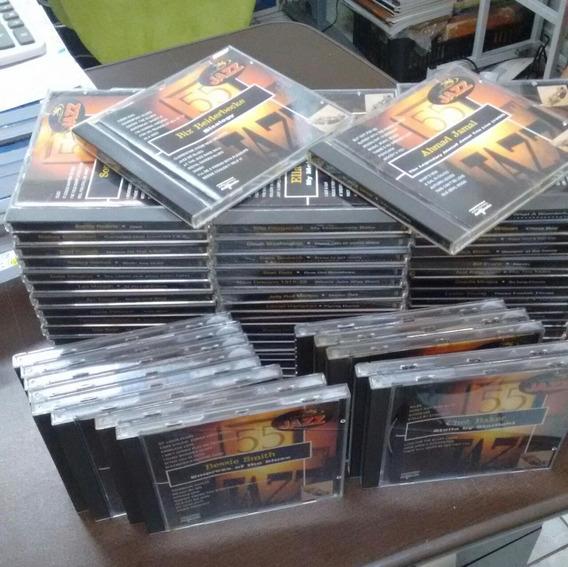 Coleçao Os Grandes Do Jazz 72 Cds - Del Prado