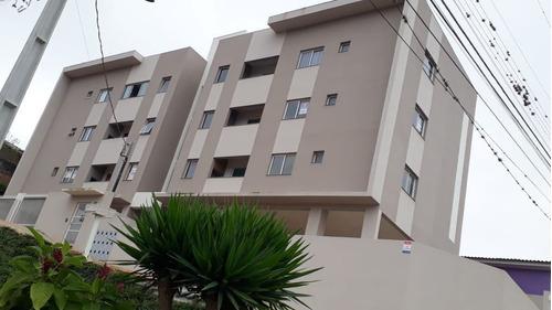 Apartamento Central Com 2 Dormitórios À Venda, 65 M² Por R$ 190.000 - Centro - Ponta Grossa/pr - Ap0760