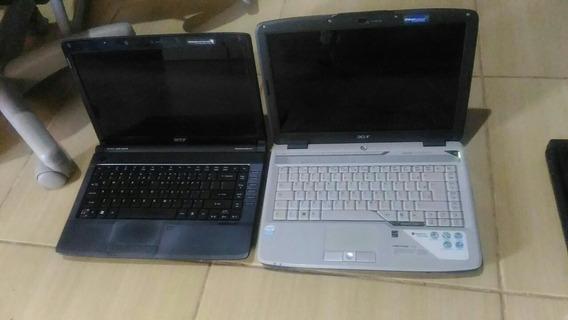Dois Notebooks Acer, Pra Aproveitar Peças, Venda No Estado