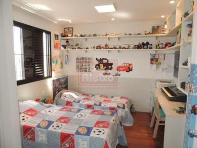 Alto Do Tatuapé - Apto Com 3 Dorms ( Planta Alterar Para 2 Suites) 102 M² Úteis + 3 Vagas - 650