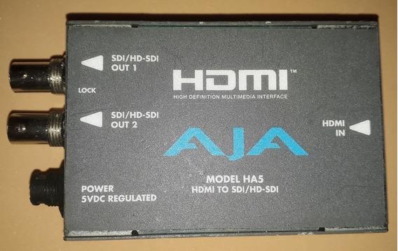 Conversor Aja Modelo Ha5 Hdmi Para Sdi