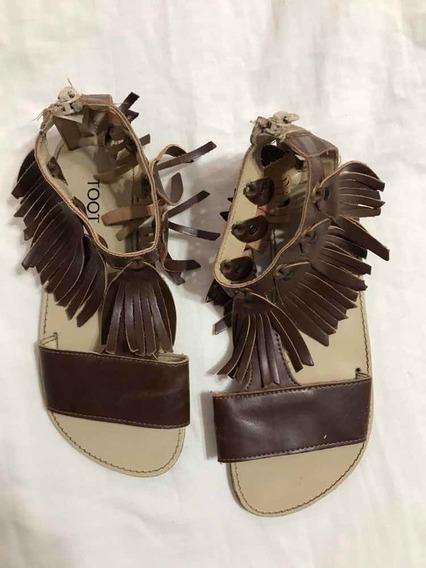Sandalias Marrones Toot N.31 $300